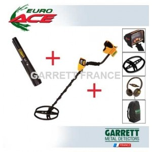 Garrett EURO ACE  Pack + Pro-Pointer II